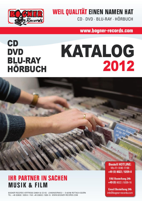 Bogner Records Gesamtkatalog 2012 By Karl Bogner Issuu