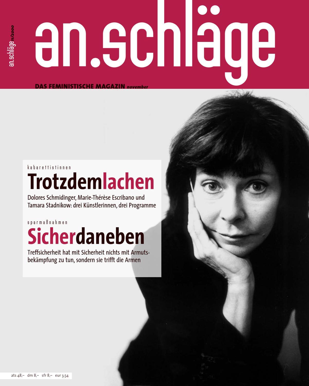 2000 11 Anschlaege By An Schlage Das Feministische Magazin Issuu