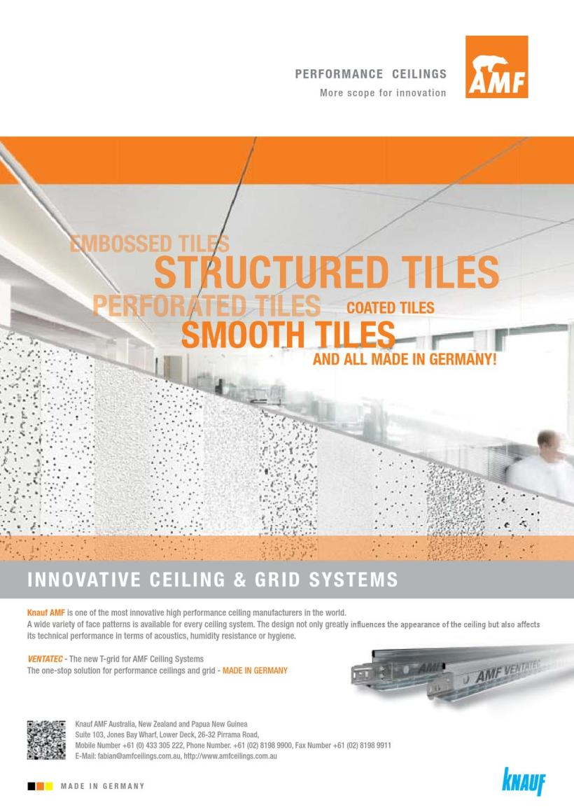 Amf ceilings australia energywarden amf ceiling tiles australia theteenline org facility perspectives sept 2017 by executive media issuu dailygadgetfo Choice Image