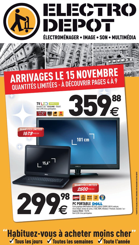 Electro Depot Catalogue 15 Novembre 2 Decembre 2012 By Promocatalogues Com Issuu