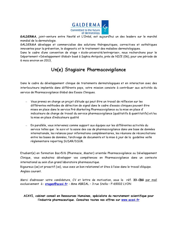 Annonce 33 Cbg By Apiep Faculte De Pharmacie De Paris Sud 11 Issuu