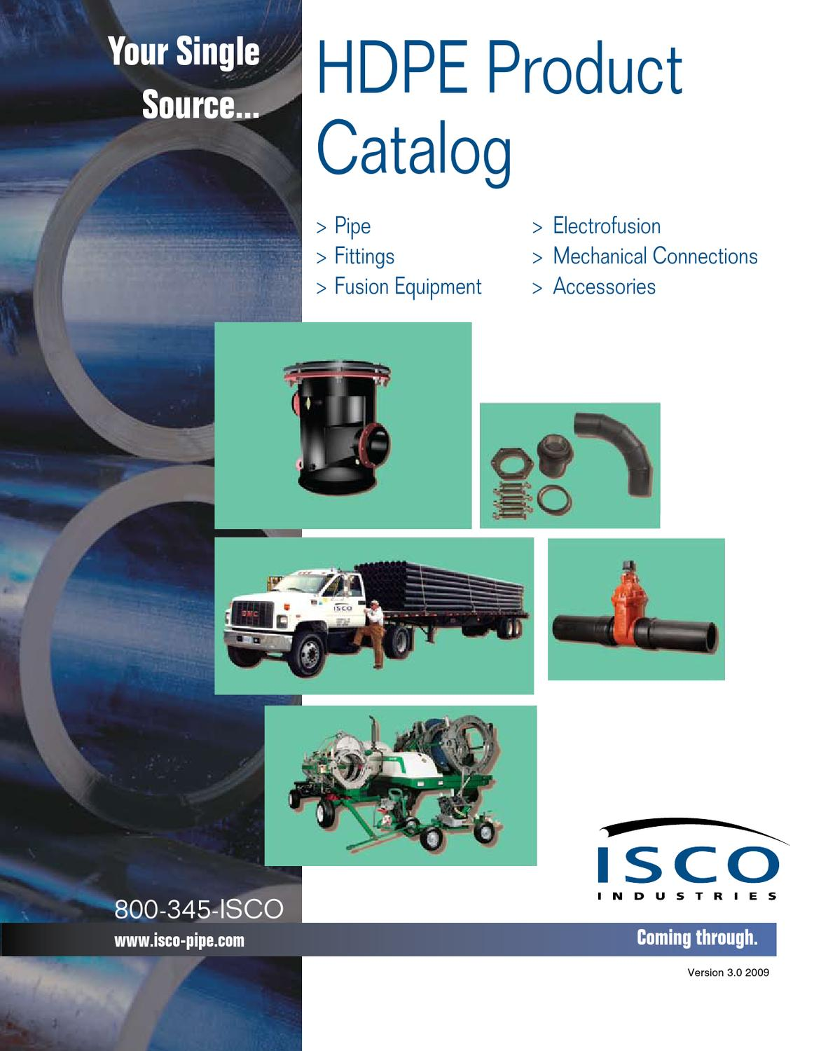 Catalog Hdpe Fittings Pipe