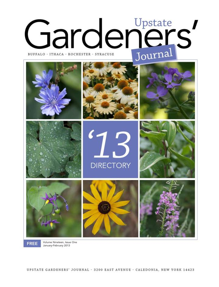 upstate gardeners' journal directory 2013 by upstate