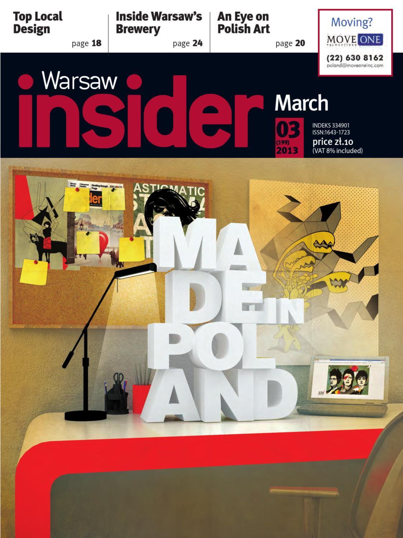 Warsaw Insider March 2013 199 By Valkea Media Pro Issuu