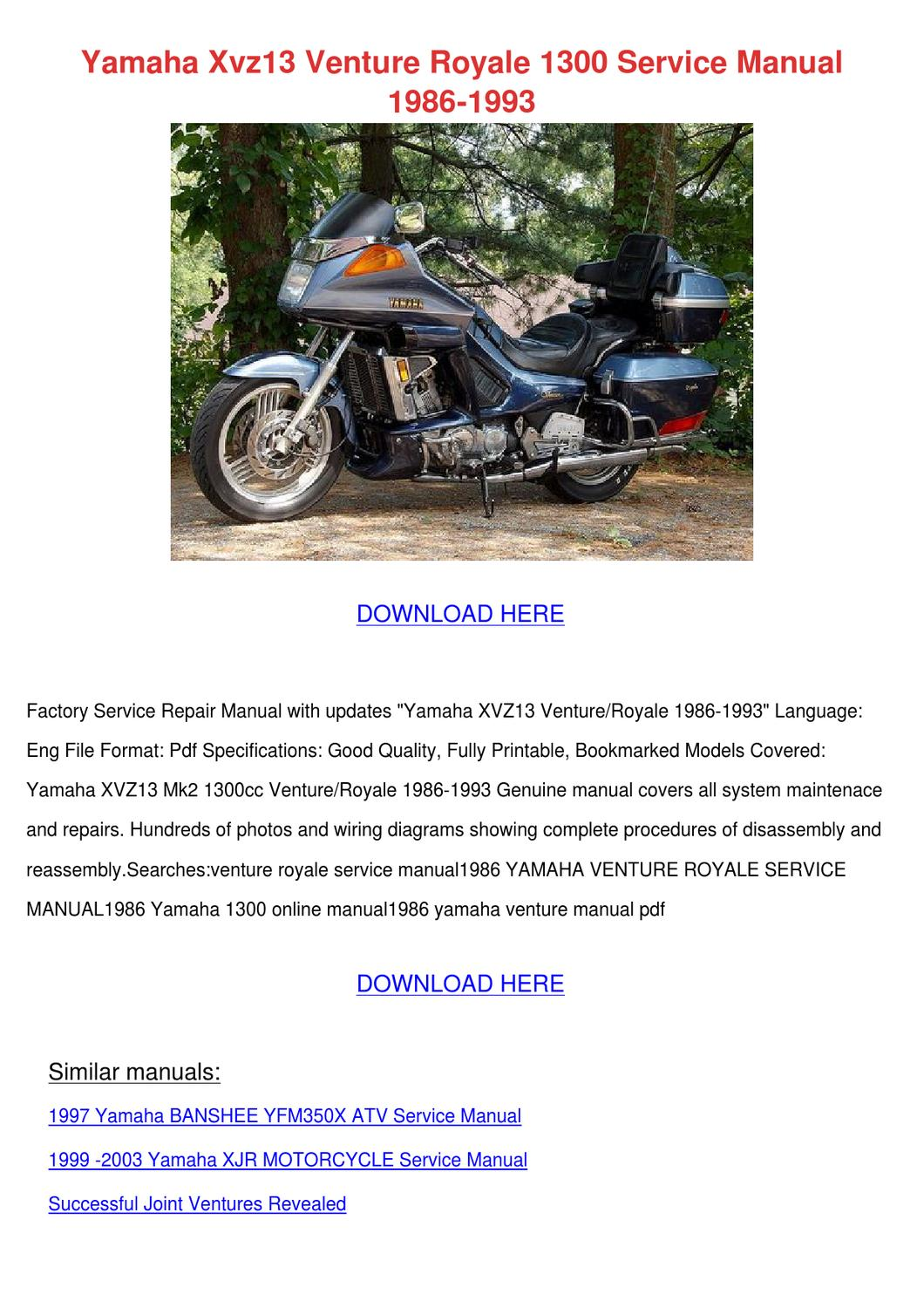download now yamaha yl1 yl 1 service repair workshop manual instant