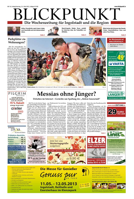 2013 Kw18 Blickpunkt By Blickpunkt Issuu