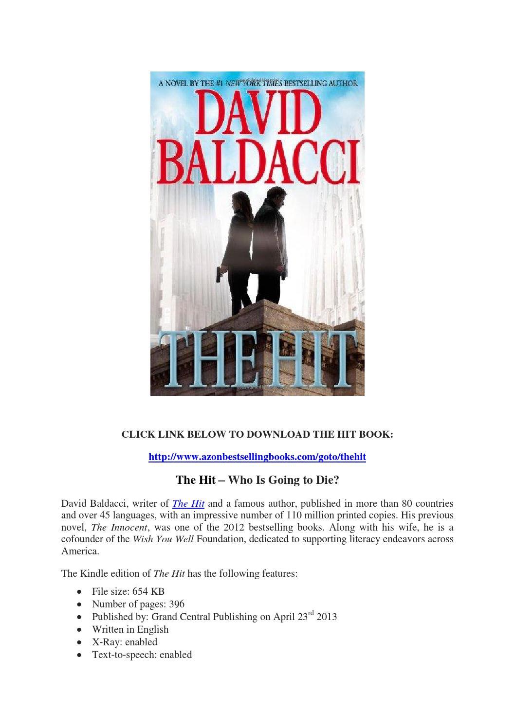The Hit David Baldacci Pdf By Tommy McLaughlin Issuu
