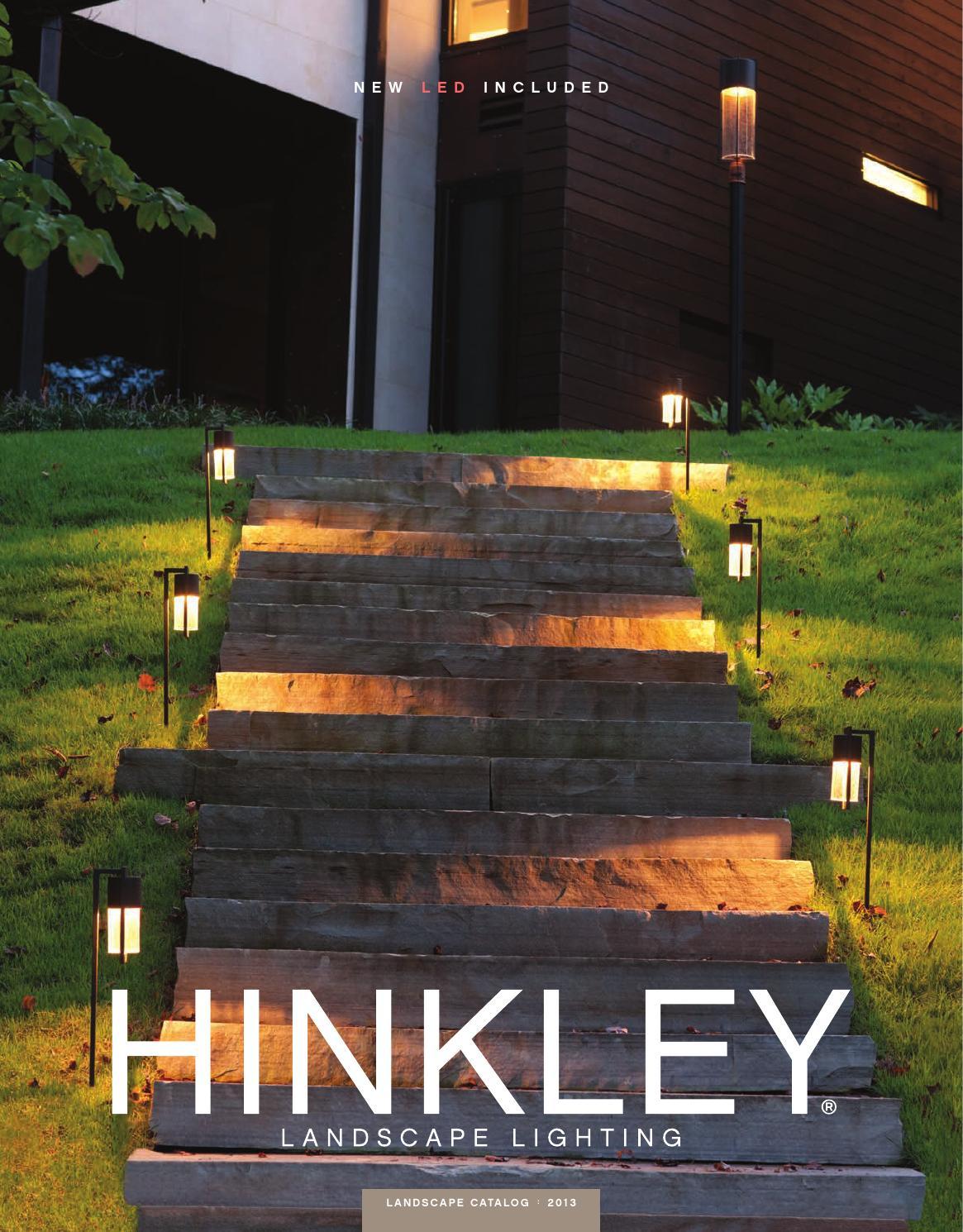 hinkley landscape lighting 2013 by