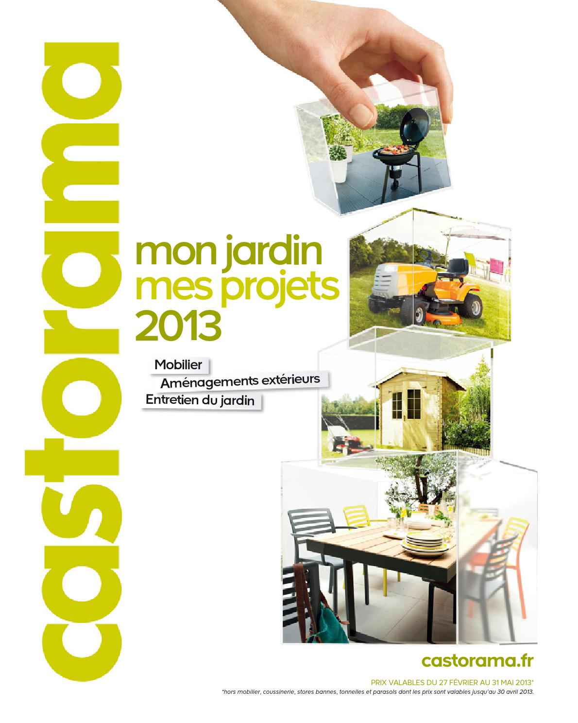 catalogue castorama jardin projets by