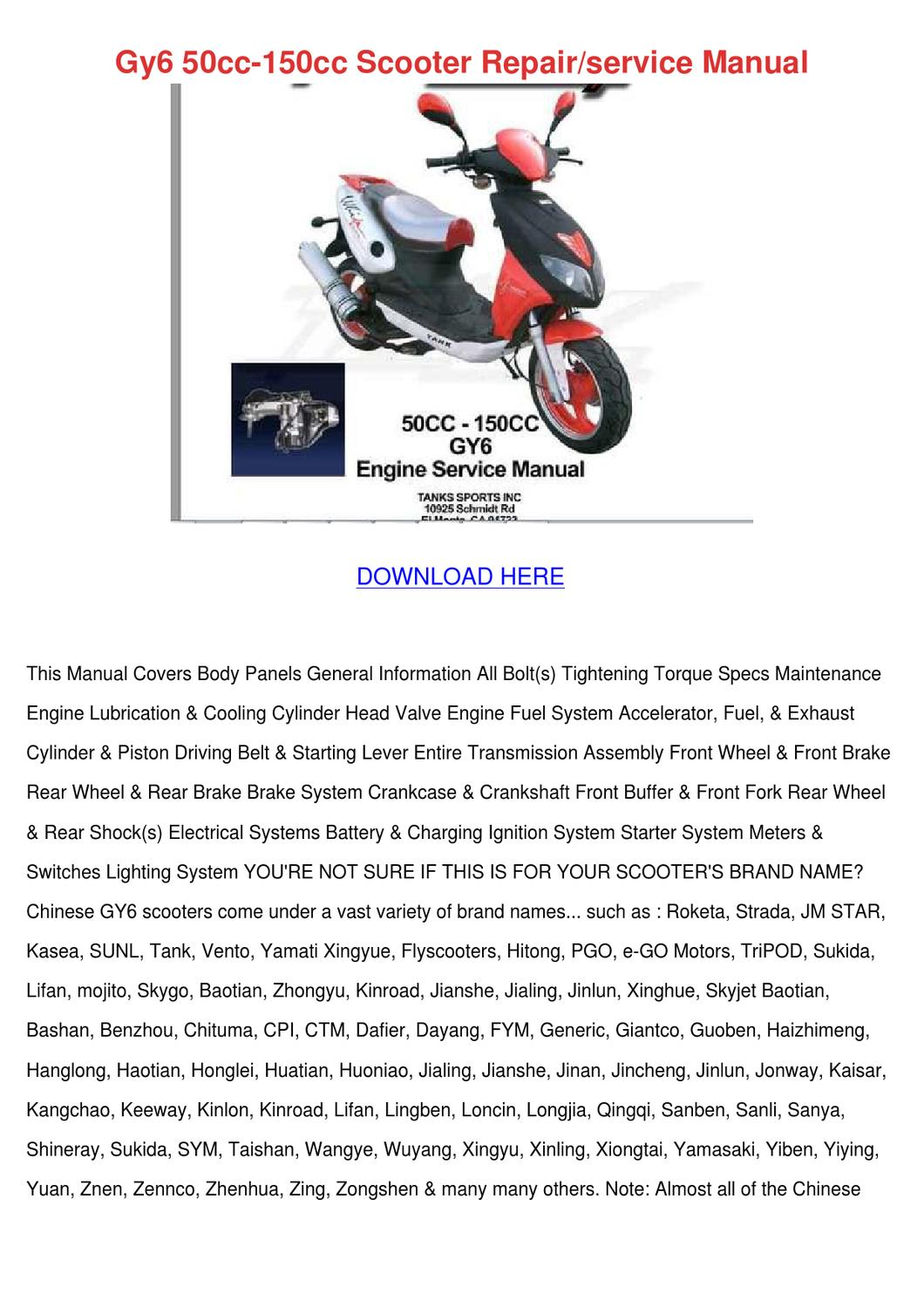 ... Array - roketa 150cc scooter body rh cellcode ...
