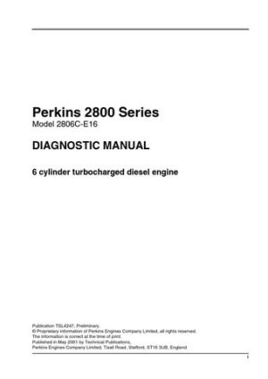 2800 SERIES PERKINS  DIAGNOSTIC MANUAL by Power Generation  Issuu