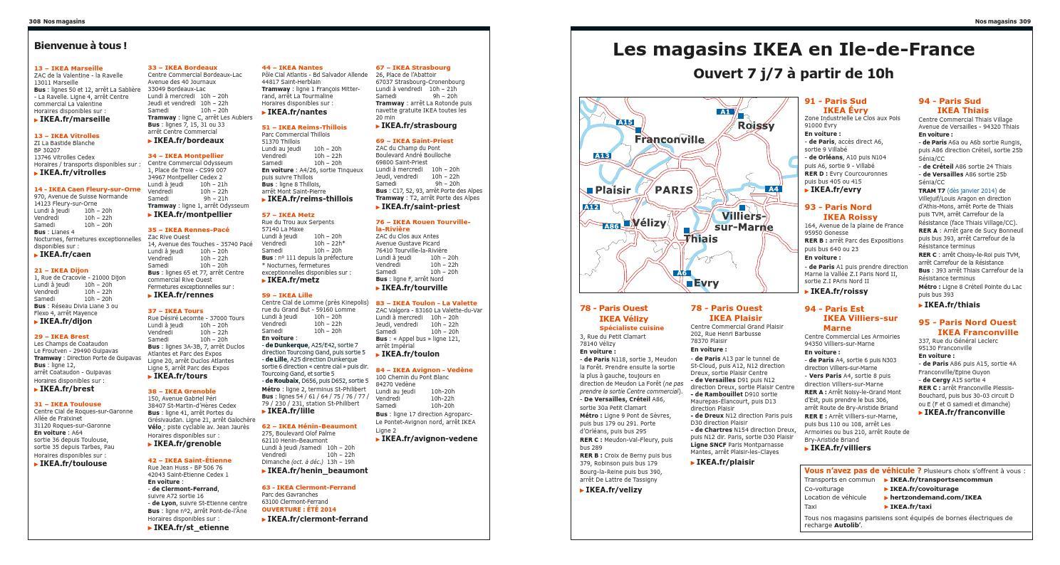 ikea france catalogue 2013 2014 by