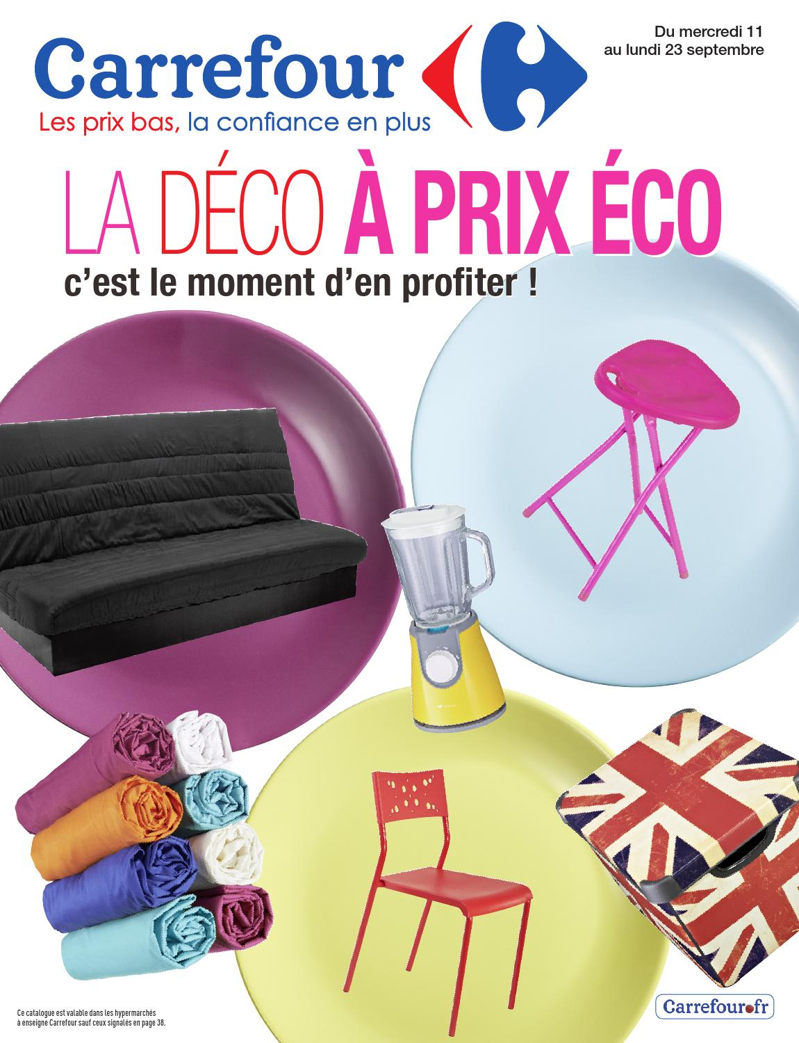 catalogue carrefour 11 23 09 2013 by