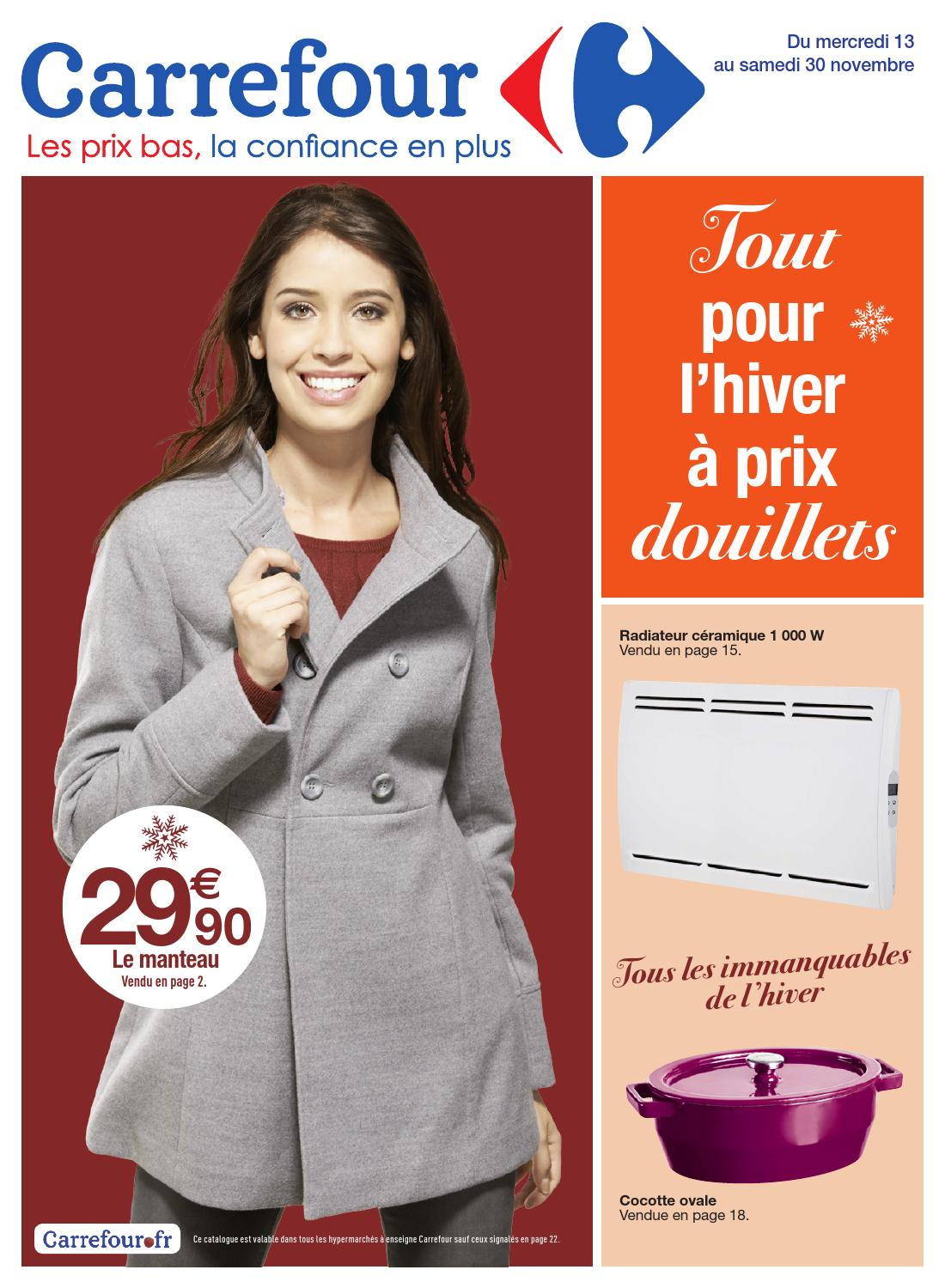 catalogue carrefour 13 30 11 2013 by