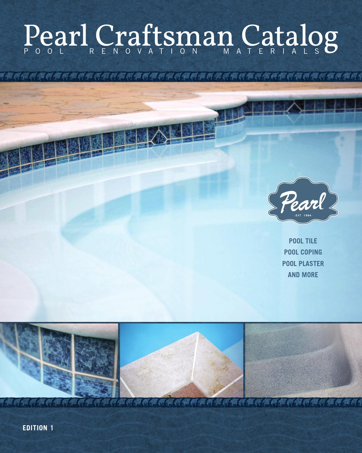pearl craftsman catalog by american