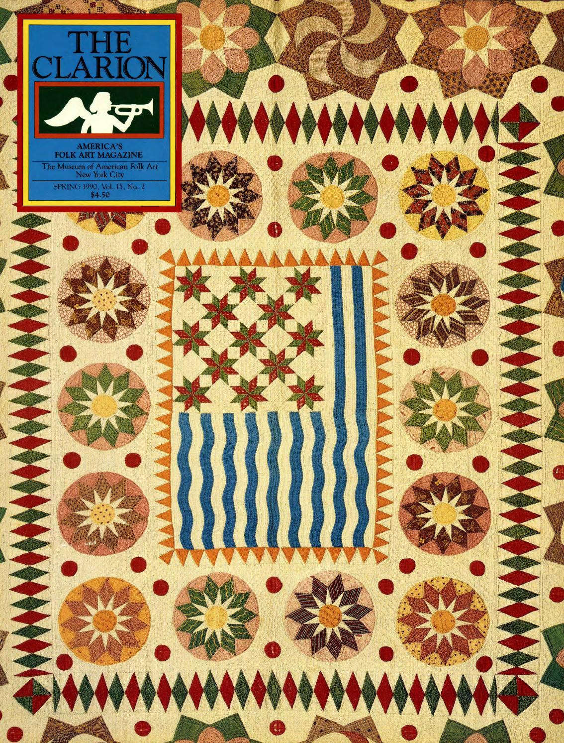 The Clarion Spring 1990 By American Folk Art Museum Issuu