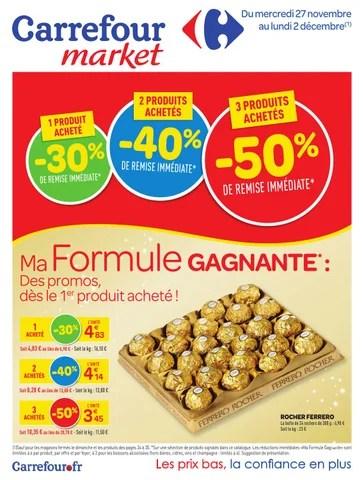 catalogue carrefour market 27 11 2 12