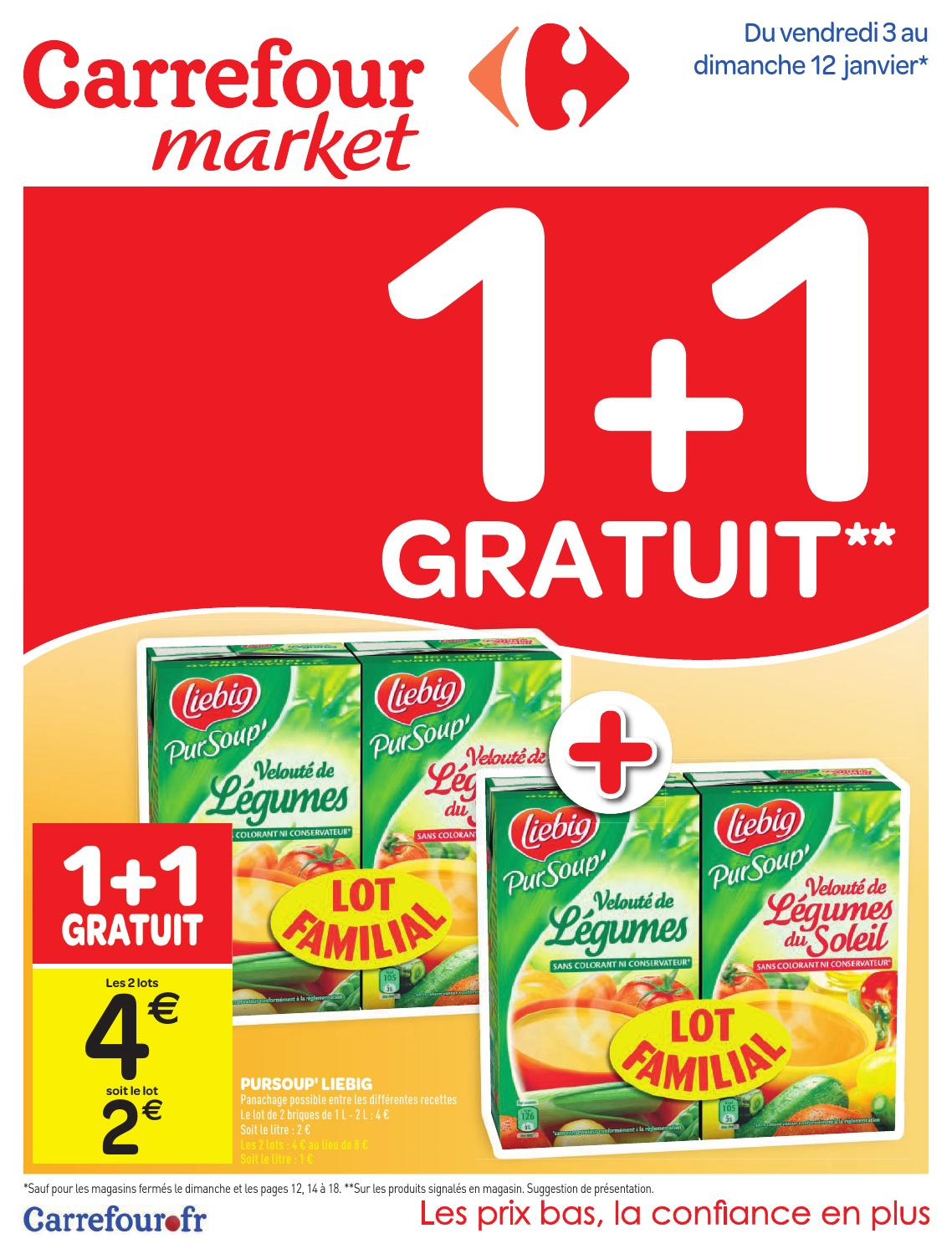 catalogue carrefour market 3 12 01