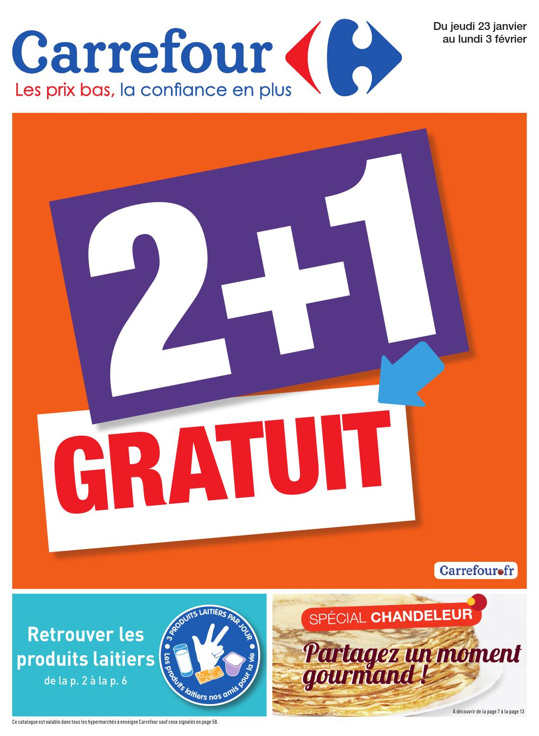 catalogue carrefour 23 01 3 02 2014