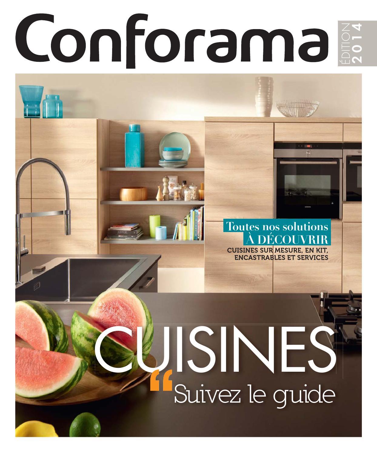 catalogue conforama guide cuisines