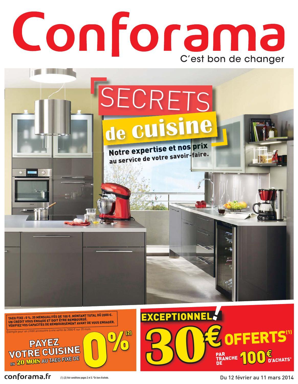 catalogue conforama 12 02 11 03 2014