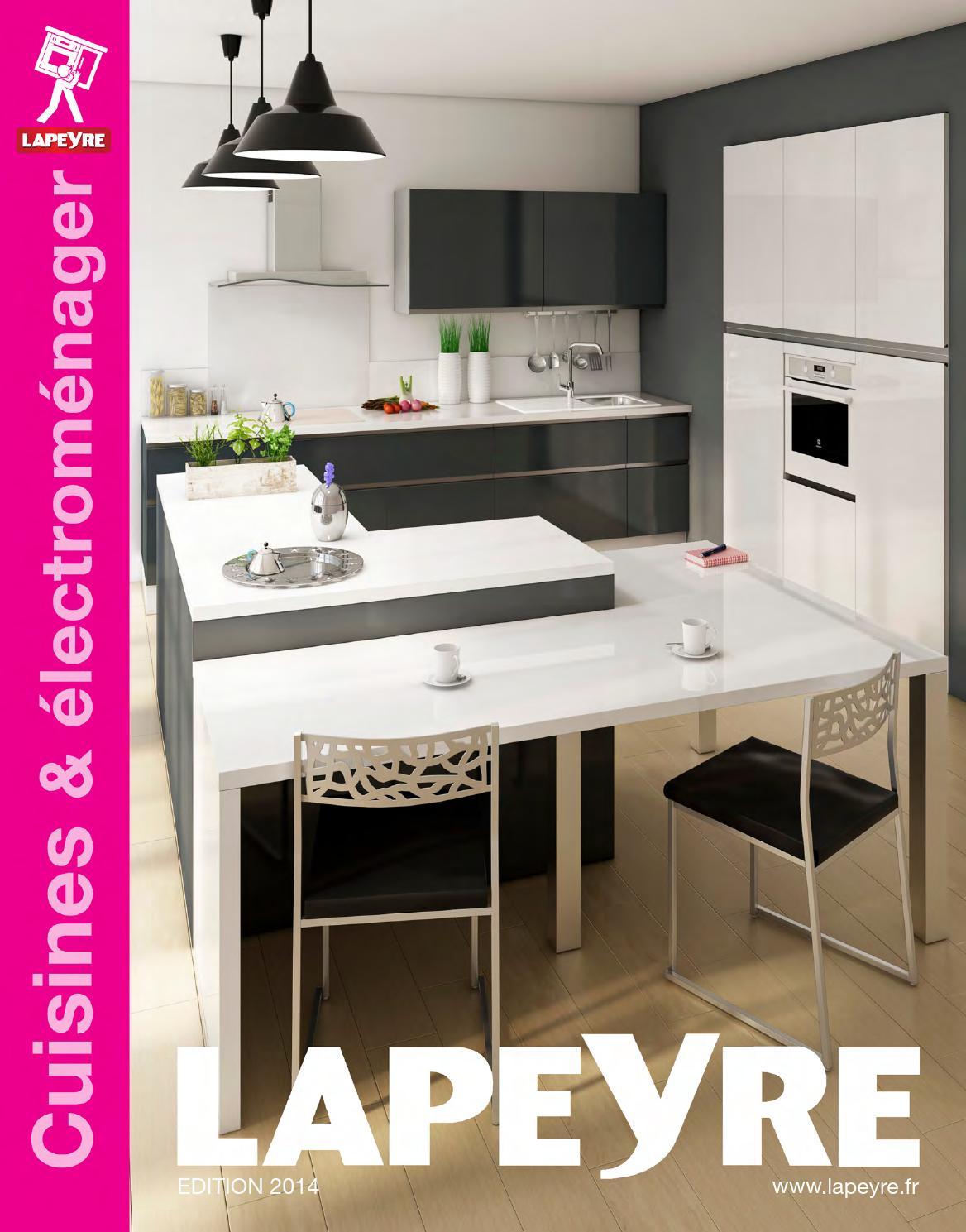 catalogue lapeyre cuisines