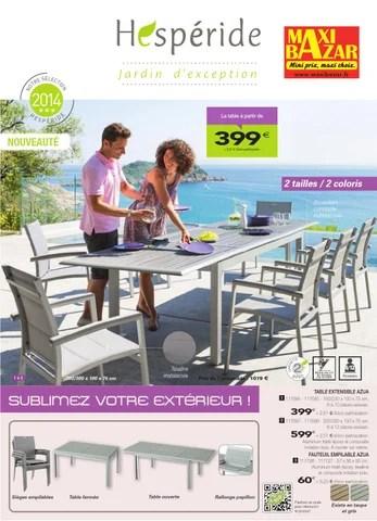 catalogue hesperide maxibazar by