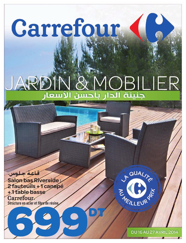 catalogue carrefour jardin et mobilier