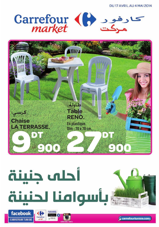 catalogue carrefour market jardin et