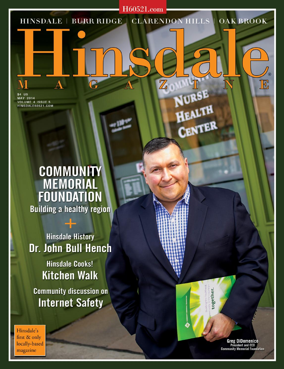 Hinsdale Magazine May 2014 By WwwHinsdaleMagcom Issuu