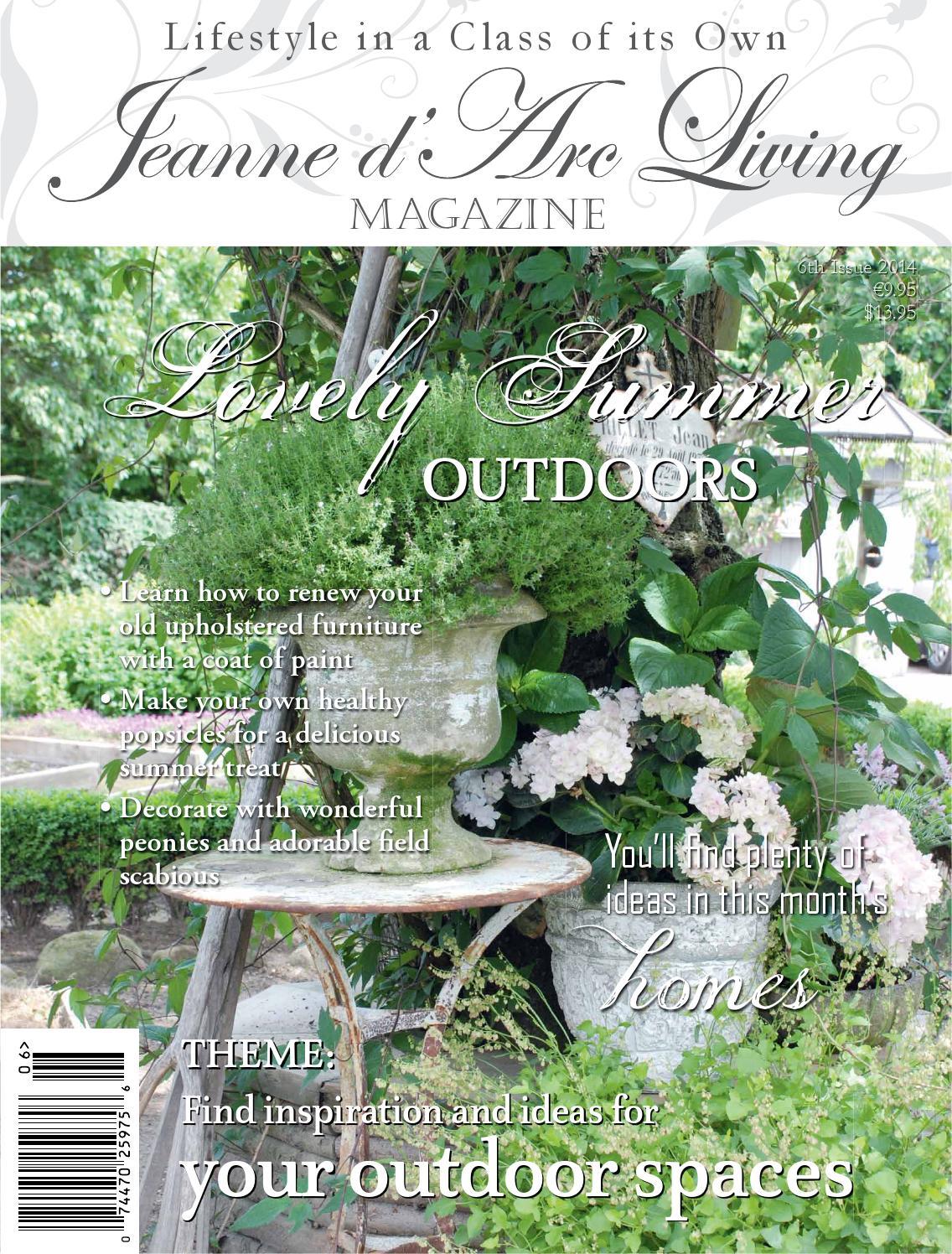 Jeanne DArc Living Magazine ISSUE 6 2014 Lovely