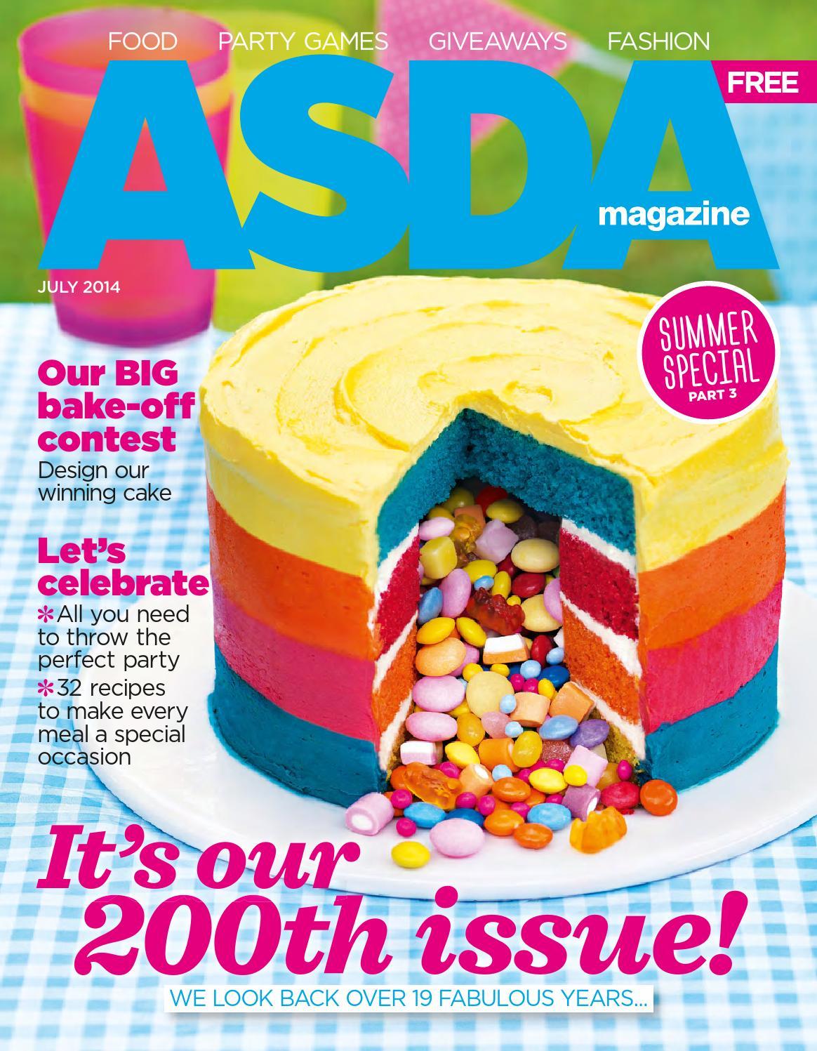 Asda Magazine July 2014 By Asda Issuu