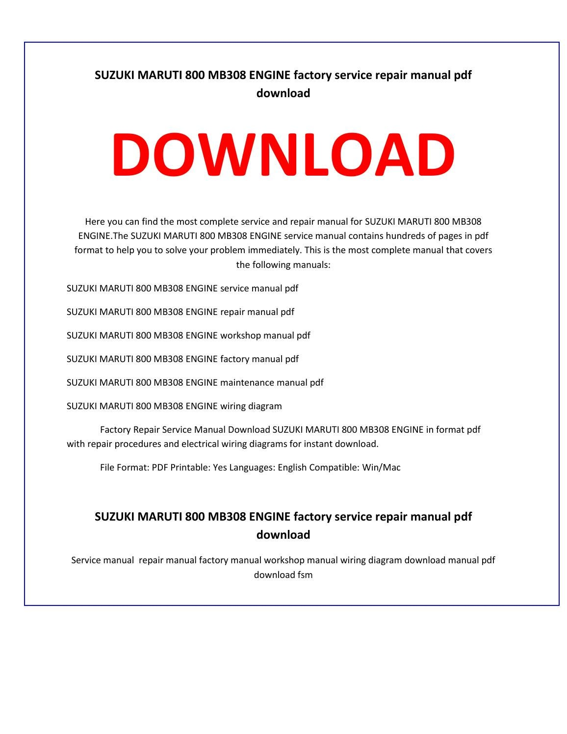 Maruti alto 800 repair manual ebook array best free fillable forms free repair manual pdf free fillable forms rh lifechallengingrides us fandeluxe Choice Image