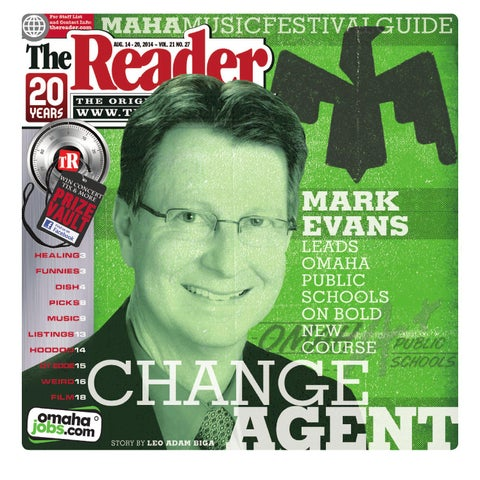 The Reader Aug. 14-20, 2014