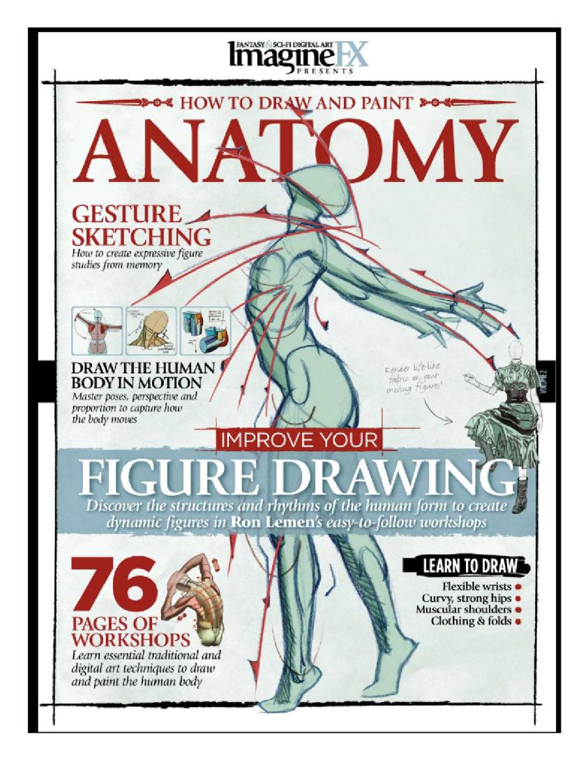 Imaginefx how to draw and paint anatomy vol 2 by SilentK ...