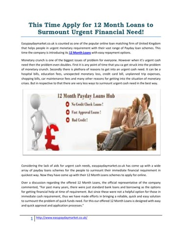 fast cash financial products on the web instant