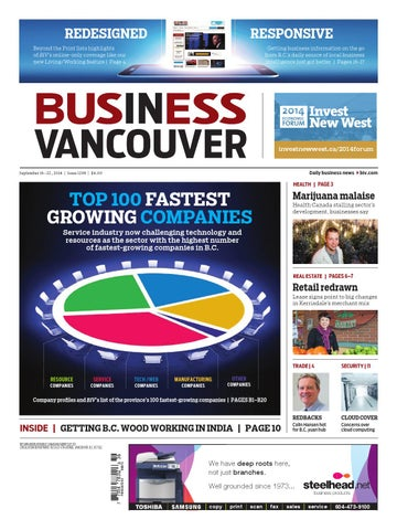 Business In Vancouver Issue 1298 By Business In Vancouver Media