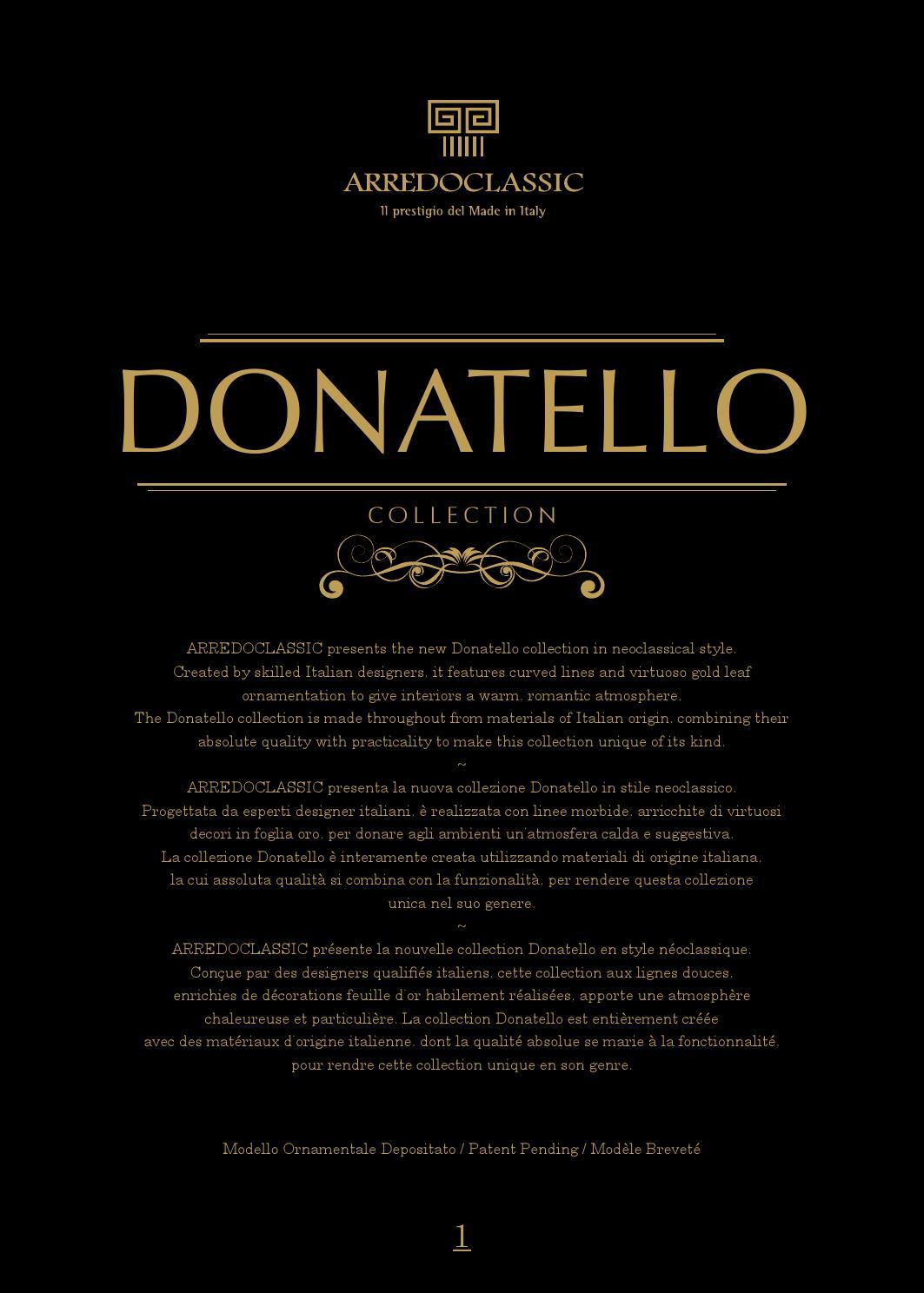 Arredoclassic Donatello By Italia Mebel Issuu
