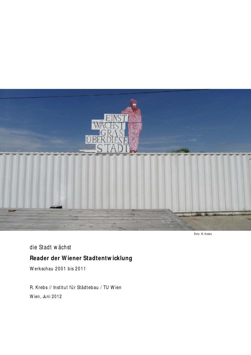 Die Stadt Wachst Reader Der Wiener Stadtentwicklung 2002 2012