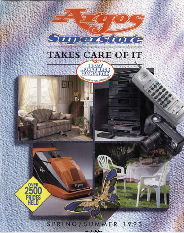 Argos Superstore 1993 Spring Summer By Retromash Issuu