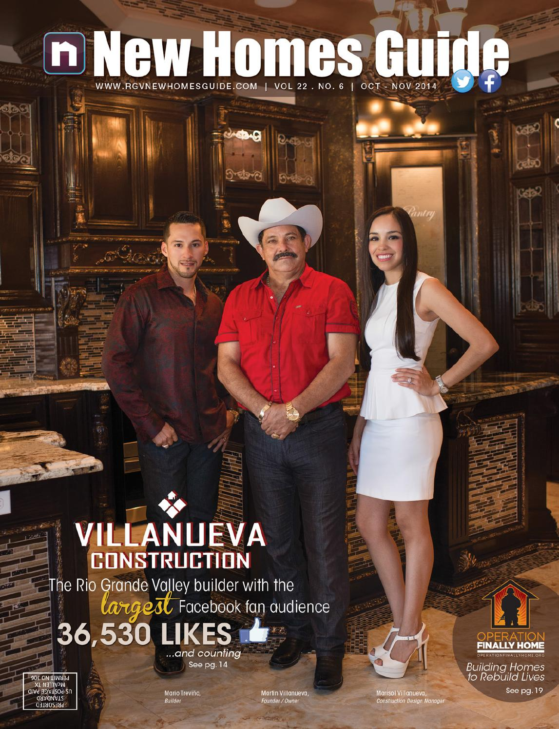 Best Kitchen Gallery: Rgv New Homes Guide Vol 22 No 6 Oct Nov 2014 By New Homes of Keystone Homes Mcallen Tx on rachelxblog.com