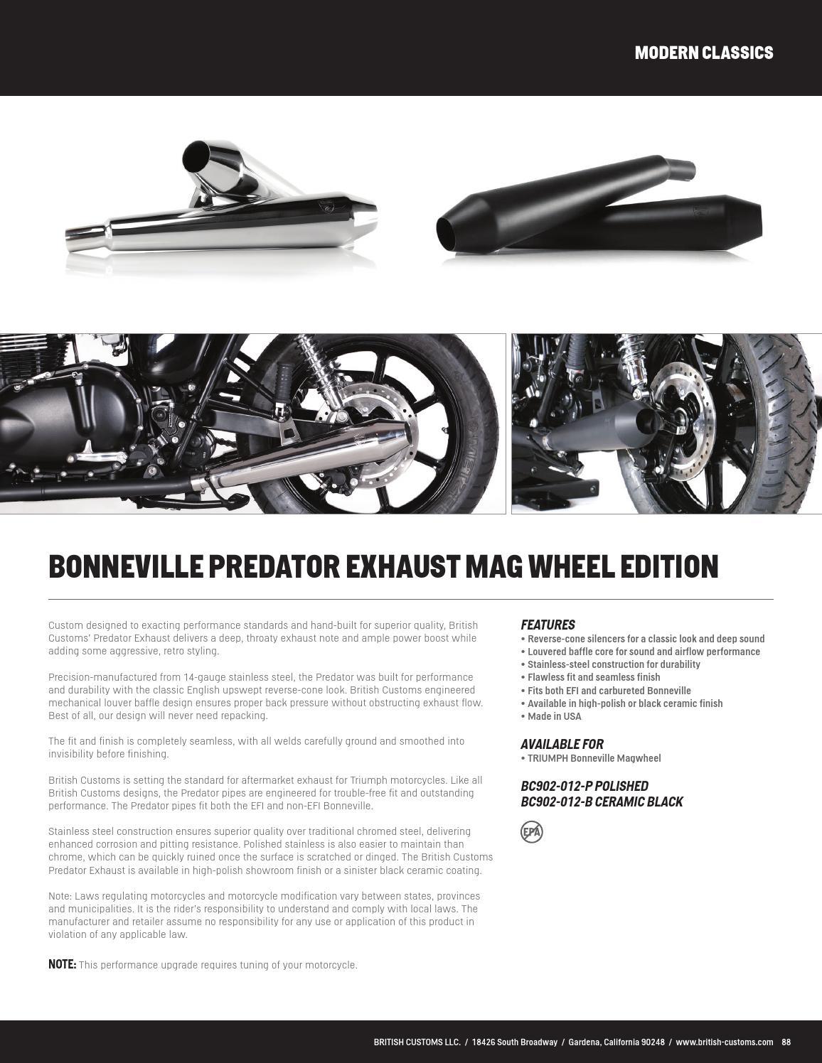 2015 parts catalog by british customs issuu