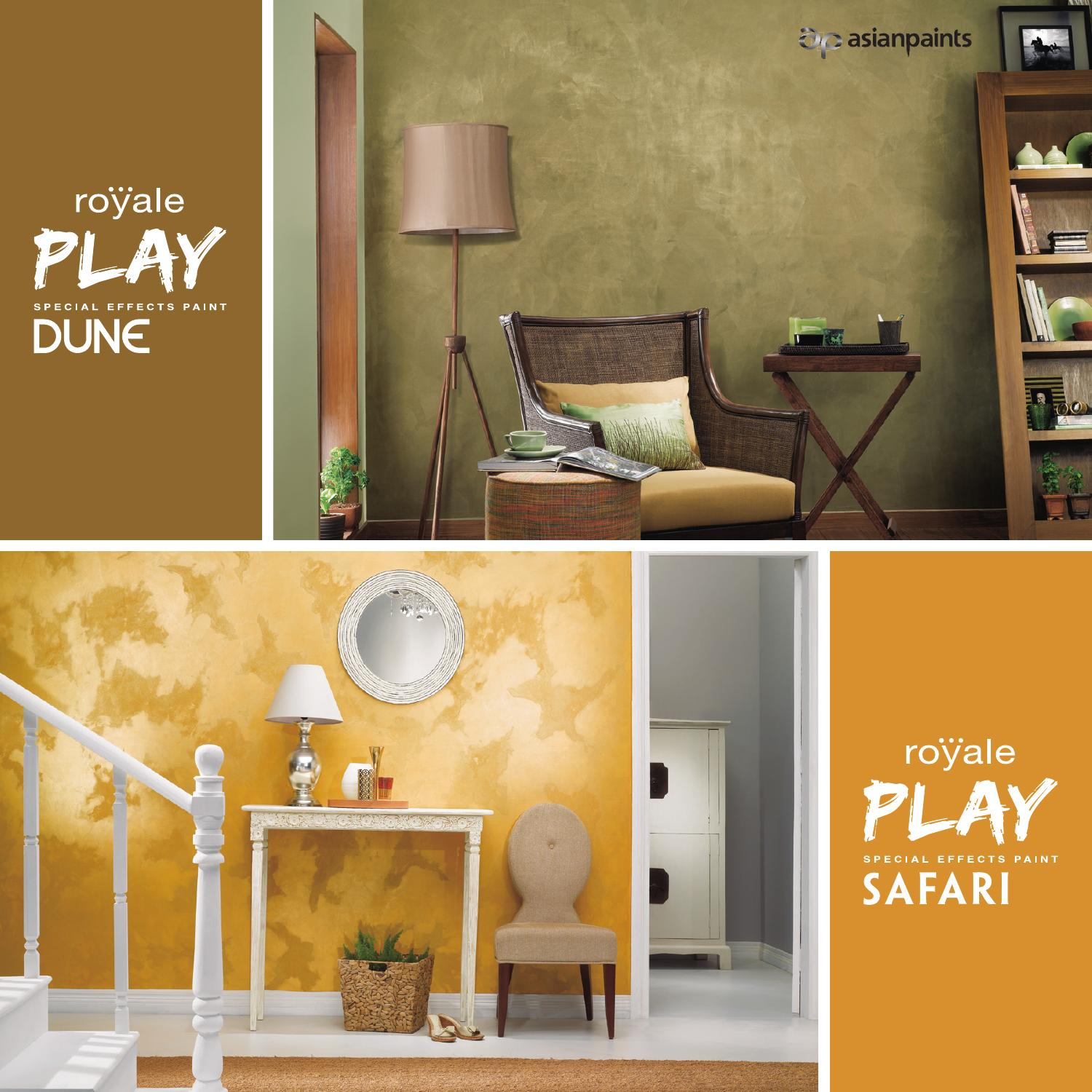Royale Play Dune Amp Safari By Asian Paints Limited Issuu