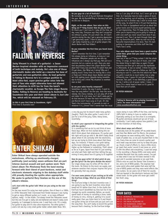 Mixdown Magazine #28  February 28 by Furst Media - issuu
