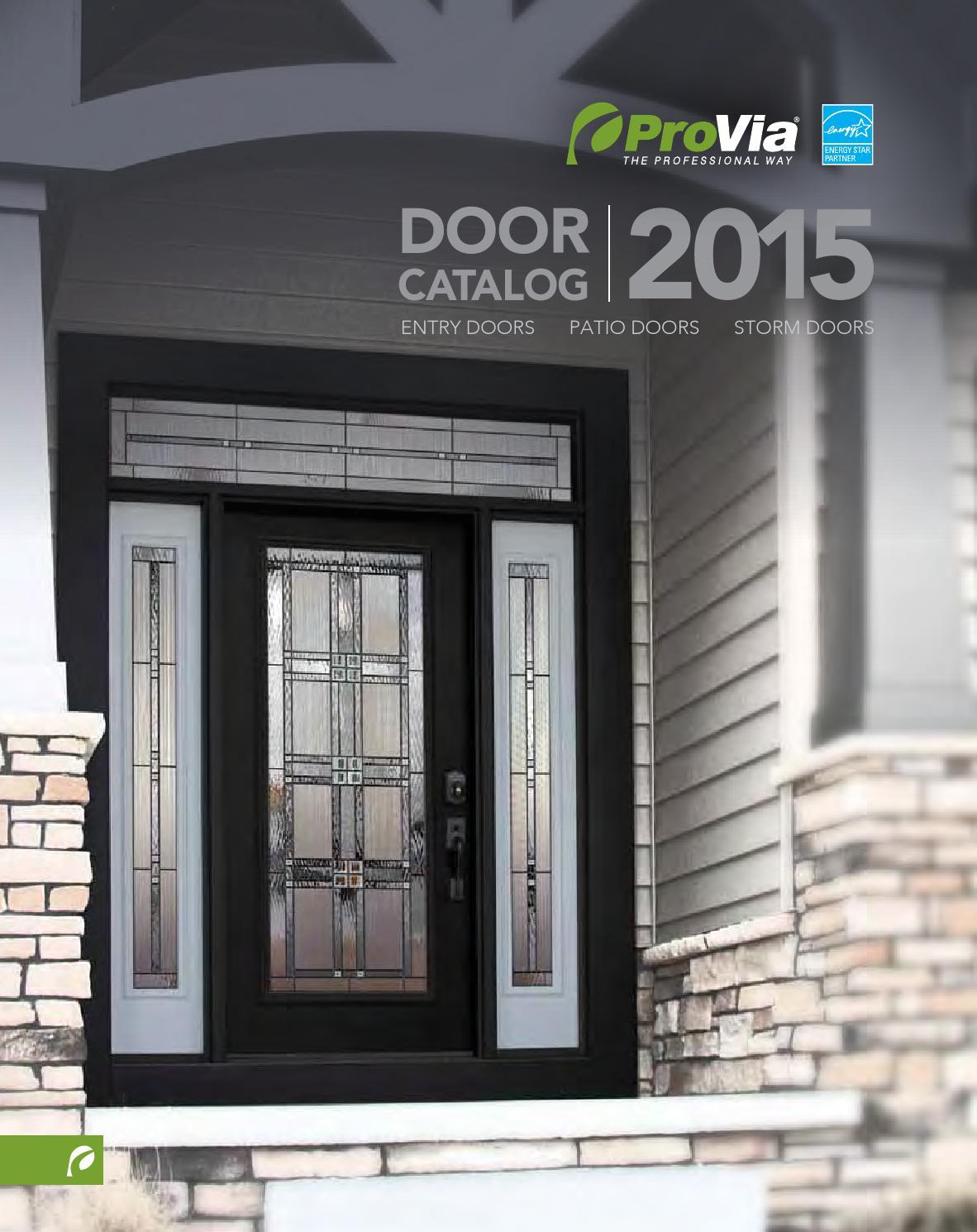 provia door catalog 2015 by minnesota s