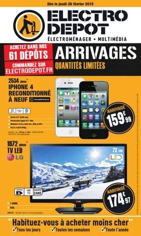 Electro Depot Catalogue 26 Fevrier 15 Mars 2015 By Promocatalogues Com Issuu