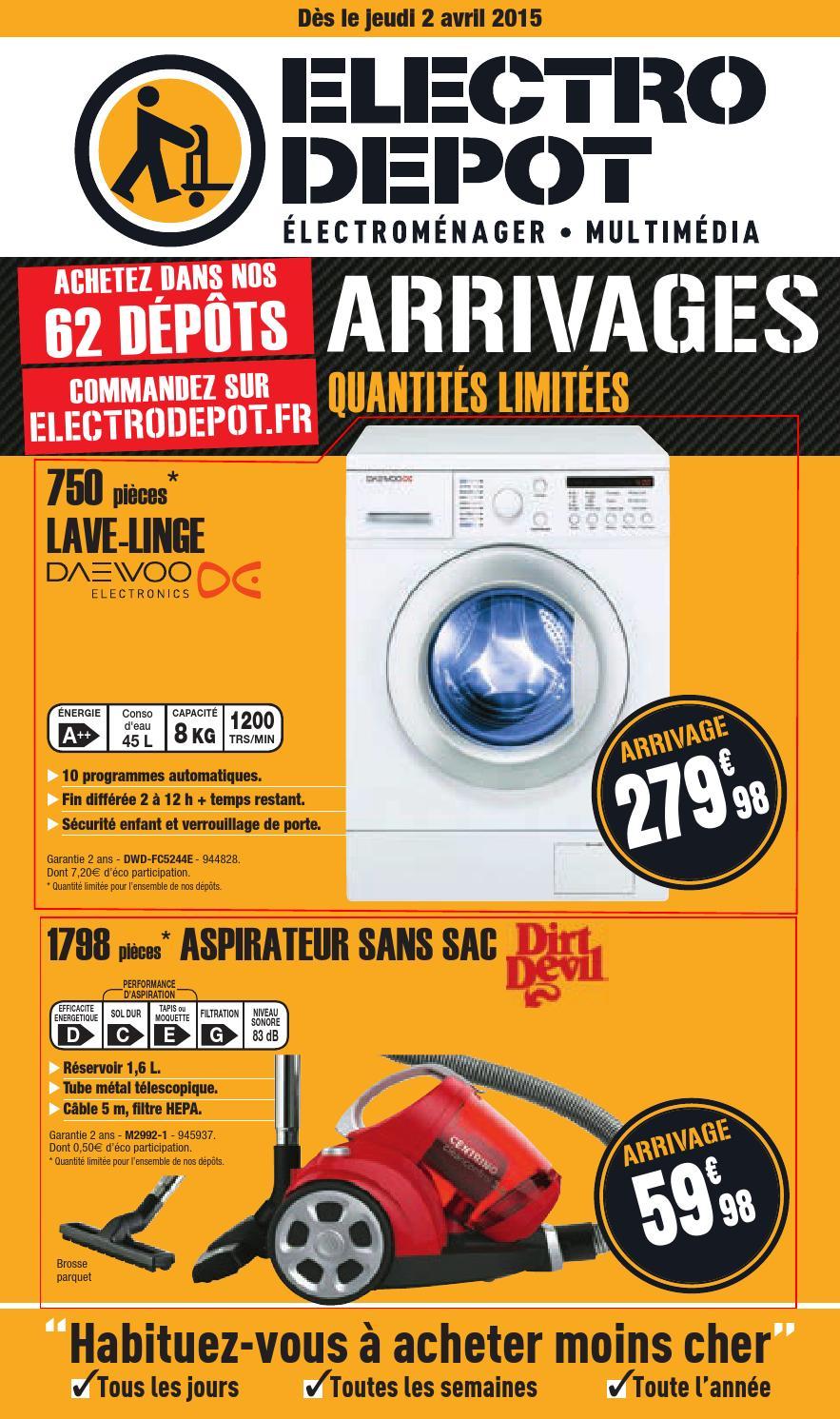 electrodepot catalogue 2avril2015 by