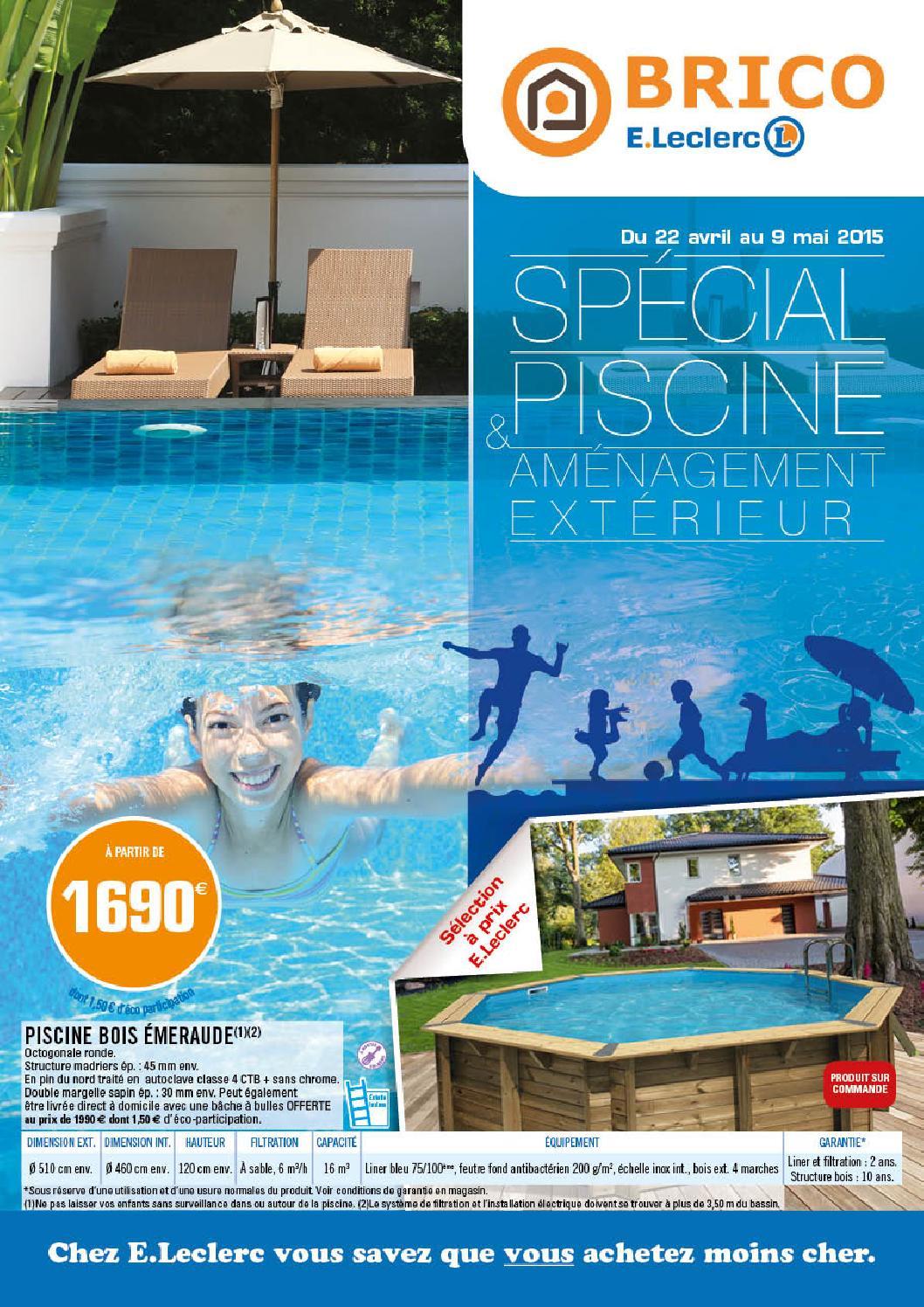 Catalogue Piscine Brico Jardi E Leclerc Ambares By Paul Hauchon Issuu
