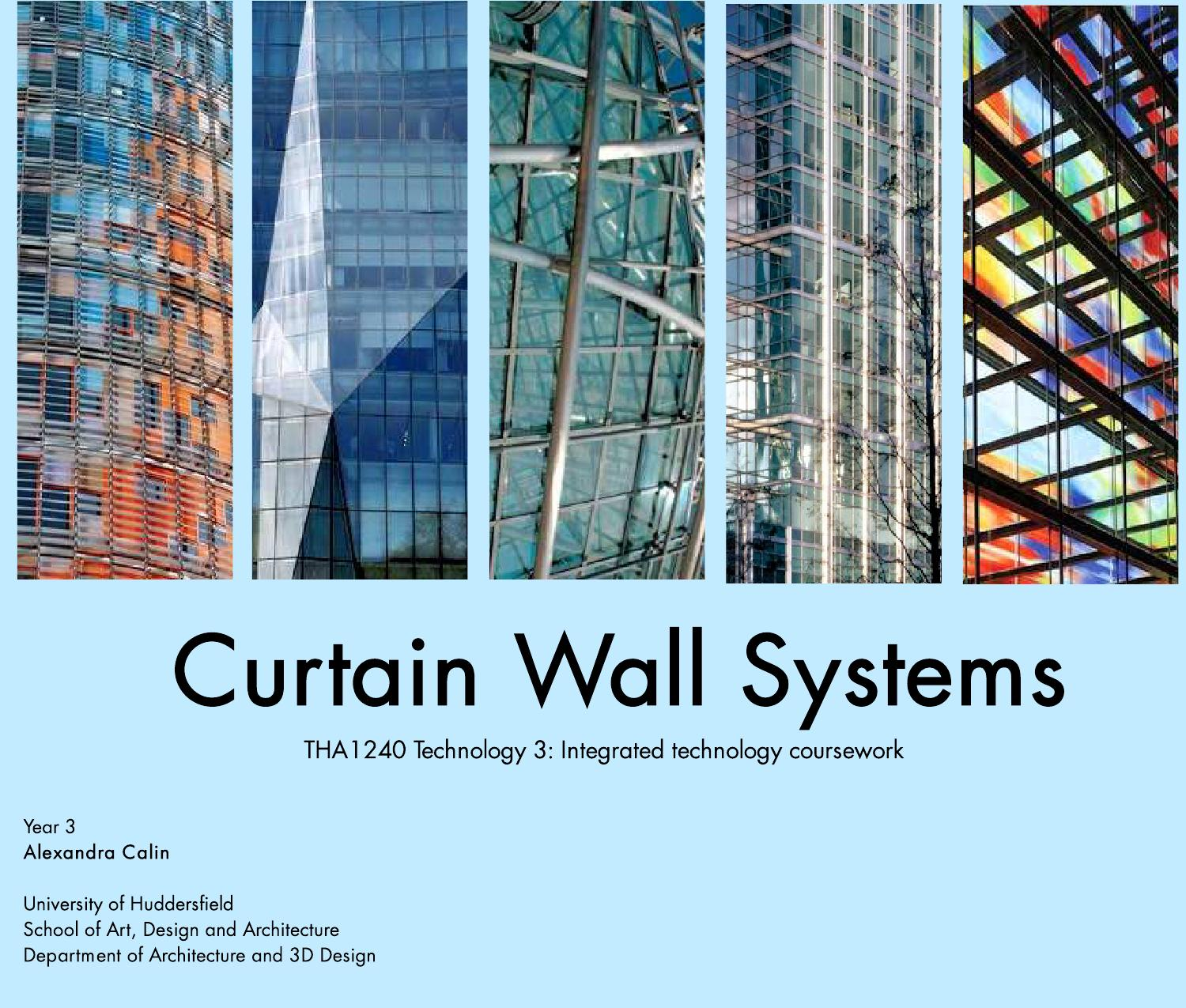 curtain wall systems technology report