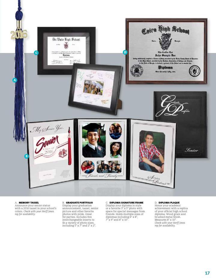 herff jones college diploma frames